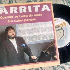 Discos de vinilo: SINGLE (VINILO) DE PARRITA AÑOS 90. Lote 222624696