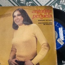 Discos de vinilo: SINGLE (VINILO) DE ANTOÑITA PEÑUELA AÑOS 70. Lote 222625023