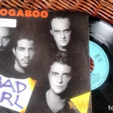 Discos de vinilo: SINGLE (VINILO) DE BOOGABOO AÑOS 80. Lote 222625140