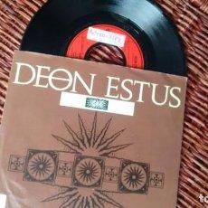 Discos de vinilo: SINGLE (VINILO) DE DEON ESTUS AÑOS 80. Lote 222625207