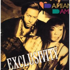 Discos de vinilo: DAMIAN DAME - EXCLUSIVITY - MAXI SINGLE 1992. Lote 222625265