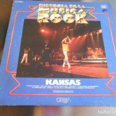 Discos de vinilo: HISTORIA DE LA MUSICA ROCK - KANSAS 61 -, LP, CAN I TELL YOU + 7, AÑO 1982. Lote 222625472