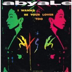 Discos de vinilo: ABYALE - I WANNA BE YOUR LOVER TOO (3 VERSIONES) - MAXI SINGLE 1990. Lote 222626456