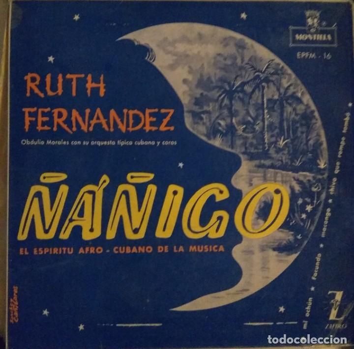 RUTH FERNANDEZ - ÑÁÑIGO - MÚSICA AFROCUBANA EP (Música - Discos - Singles Vinilo - Étnicas y Músicas del Mundo)