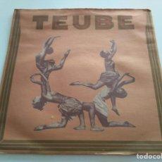 Discos de vinilo: TEUBE - TEUBE. Lote 222629922