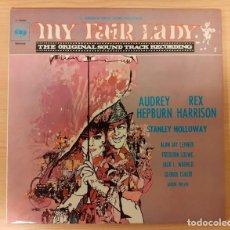 Discos de vinilo: MY FAIR LADY ALAN JAY LERNER, FREDERICK LOEWE EICIÓN ESPAÑOLA 1970 MUY BUEN ESTADO. Lote 222632176