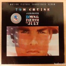 Discos de vinilo: NACIDO EL CUATRO DE JULIO (BORN ON THE FOURTH OF JULY) JOHN WILLIAMS, EDDIE BRICKELL, VAN MORRISON. Lote 222633142
