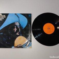 Discos de vinilo: 1010- JOSE CAFRUNO Y MARITO VIRGEN INDIA 1972 LP ESPAÑA VIN POR VG DIS VG. Lote 222639512