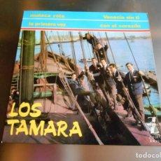 Discos de vinilo: TAMARA, LOS, EP, VENECIA SIN TI + 3, AÑO 1965. Lote 222640227