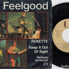 Disques de vinyle: DOCTOR CD FEELGOOD - ROXETTE - SINGLE DE VINILO EDCION ESPAÑOLA. Lote 222641028