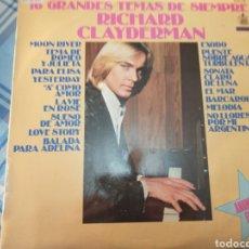 Discos de vinilo: RICHARD CLAYDERMAN LP. Lote 222641823