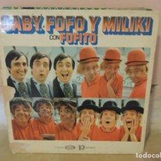 Discos de vinilo: LOTE DE 8 VINILOS LP DE MUSICA INFANTIL - VER FOTOS Y LISTA. Lote 222641828
