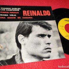 Discos de vinilo: REINALDO UNA NOCHE EN CANARIA/MAMA VIEJA/PIMPIN PIRIGUA +1 EP CANTEZZA FRANCIA FRANCE. Lote 222648697