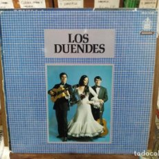 Discos de vinilo: LOS DUENDES - RUMBAS Y SEVILLANAS - LP. HISPAVOX 1971. Lote 222651410