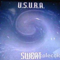 Discos de vinilo: U.S.U.R.A. - SWEAT - MAXI-SINGLE MAX MUSIC (SPAIN) 1993. Lote 222656662