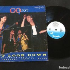 "Discos de vinilo: GO WEST DON'T LOOK DOWN - EXTENDED 12"" GERMANY. Lote 222657710"