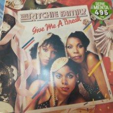 Discos de vinilo: RITCHIE FAMILY LP. Lote 222659918