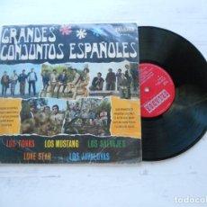 "Disques de vinyle: VARIOUS ?– GRANDES CONJUNTOS ESPAÑOLES LP 10"" VG/VG 1968. Lote 222660503"