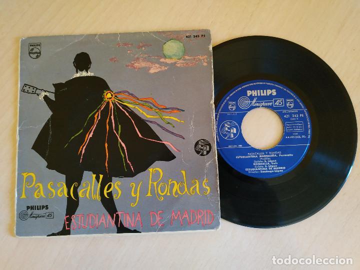 ESTUDIANTINA DE MADRID - PEPITA CREUS / EL PAYADOR / ESTUDIANTINA MADRILEÑA / RONDALLA - EP 1960 (Música - Discos de Vinilo - EPs - Otros estilos)