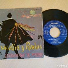 Discos de vinilo: ESTUDIANTINA DE MADRID - PEPITA CREUS / EL PAYADOR / ESTUDIANTINA MADRILEÑA / RONDALLA - EP 1960. Lote 222662426