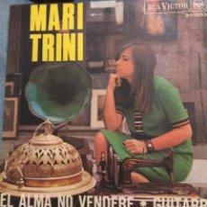Discos de vinilo: MARI TRINI - EL ALMA NO VENDERÉ/GUITARRA 1967. Lote 222663721