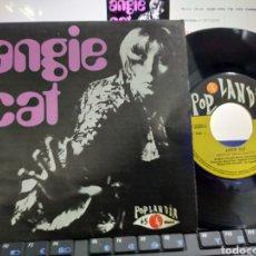 Discos de vinilo: ANGIE CAT SINGLE 1969 EN PERFECTO ESTADO. Lote 222663960