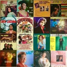 """Discos de vinilo: LOTE 16 DISCOS DE VINILO EN ESPAÑOL LP 12"""" CAMILO SESTO MANOLO ESCOBAR MARIFE TRIANA ANA REVERTE. Lote 239499005"""