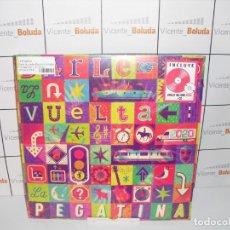 Discos de vinilo: LA PEGATINA DARLE LA VUELTA (EDICIÓN LIMITADA FIRMADA + CÓDIGO CONCIERTO ONLINE) (CD + LP-VINILO). Lote 222667751