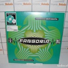 Discos de vinilo: FANGORIA SALTO MORTAL (CD + LP-VINILO VERDE) NUEVO Y PRECINTADO ENVIO CERTIFICADO 2 EUROS. Lote 222667903