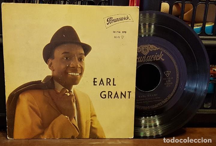 EARL GRANT -SERMONETTE - MY FOOLISH HEART - TENDER IS THE NIGHT - HONEY (Música - Discos de Vinilo - EPs - Pop - Rock Extranjero de los 70)