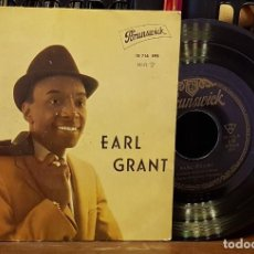 Disques de vinyle: EARL GRANT -SERMONETTE - MY FOOLISH HEART - TENDER IS THE NIGHT - HONEY. Lote 222670486