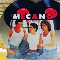 Discos de vinilo: MECANO-LP DOBLE 20 GRANDES EXITOS-NUEVO. Lote 222670588