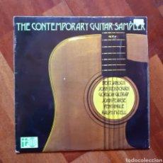 Discos de vinilo: CONTEMPORARY GUITAR SAMPLER (UK EDICIÓN) BERT JANSCH RENBOURN GILTRAP PENTAGLE MCTELL...1969. Lote 222673475