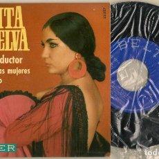 Discos de vinilo: DISCOS. SINGLES VINILO: PERLITA DE HUELVA. AMIGO CONDUCTOR. BELTER 52.327 (P/B72.C2). Lote 222674177