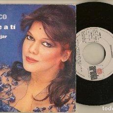 Discos de vinilo: DISCOS. SINGLES VINILO: ANGELA CARRASCO. QUERERTE A TÍ. OBSEQUIO STARLUX. (P/B72.C2). Lote 222674788
