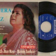 Discos de vinilo: DISCOS. SINGLES VINILO: LA PAQUERA DE JEREZ. MIS CUENTAS LLEVO. VERGARA. 160 - UC. (P/B72.C2). Lote 222675197