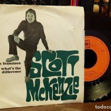 Discos de vinilo: SCOTT MCKENZIE - SAN FRANCISCO. Lote 222675820
