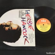 "Discos de vinilo: HERBIE HANCOCK FUTURE SHOCK - MAXI SINGLE 12"" UK. Lote 222677216"