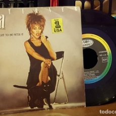 Discos de vinilo: TINA TURNER - WHAT´S LOVE GOT TODO WITH IT. Lote 222677748