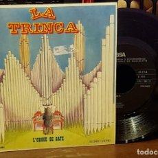 Discos de vinilo: LA TRINCA - LÓRGUE DE GATS. Lote 222678111