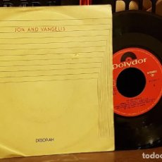 Discos de vinilo: JON AND VANGELIS - DEBORAH. Lote 222678643