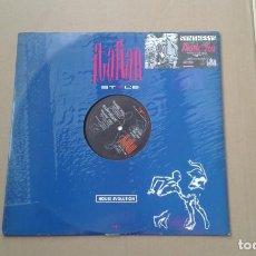 Discos de vinilo: SYNTHESIS – THANK YOU MAXI SINGLE 1990 EDICION ITALIA. Lote 222679633