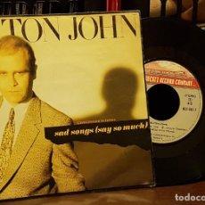 Discos de vinilo: ELTON JOHN - SAD SONGS. Lote 222679742