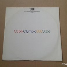 Discos de vinilo: 808 STATE - CUBIK MAXI SINGLE 1990 EDICION EUROPEA. Lote 222680118