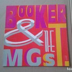 Discos de vinilo: BOOKER & THE MGS - SOUL LIMBO MAXI SINGLE 1989 EDICION ESPAÑOLA. Lote 222682116