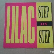 Discos de vinilo: LILAC - STEP BY STEP MAXI SINGLE 1990 EDICION ITALIA. Lote 222685808