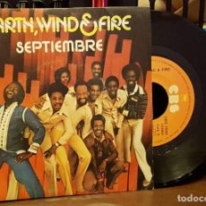 Discos de vinilo: EARTH, WIND & FIRE - SEPTIEMBRE. Lote 222685851