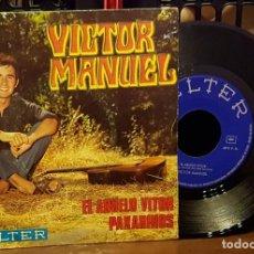Discos de vinilo: VICTOR MANUEL - EL ABUELO VICTOR. Lote 222686007