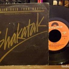 Discos de vinilo: SHAKATAK - EASIER SAID THAN DONE. Lote 222687400