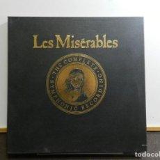 Discos de vinilo: CAMERON MACKINTOSH A. BOUBLIL & C.M. SCHÖNBERG - LES MISÉRABLES. THE COMPLETE SYMPHONIC RECORDING.. Lote 222688242